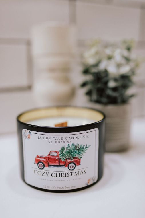 Cozy Christmas Candle-Home & Gifts-Caron & Co Bath and Body-Max & Riley