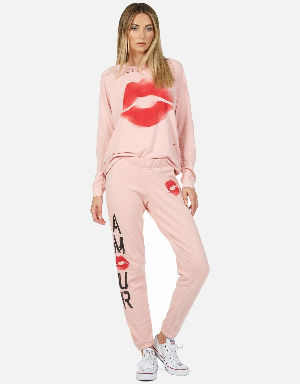 Gia Amour Sweatpant-Sweatpants-Lauren Moshi-Max & Riley