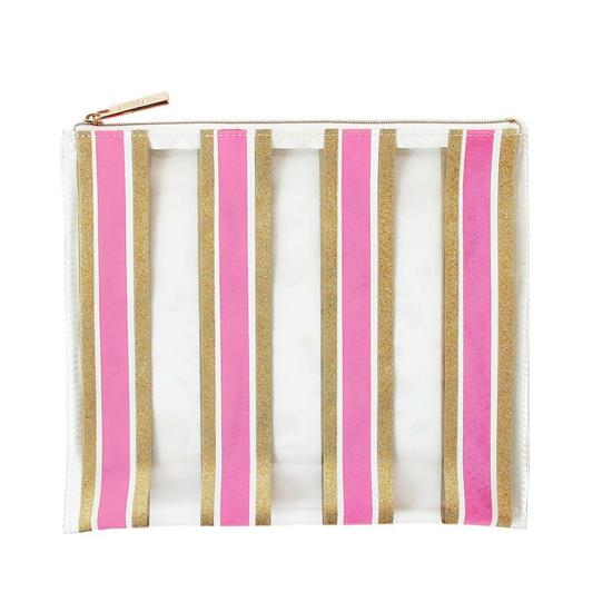 Stripe Here Stripe Now Everything Pouch-Accessories-Packed Party-Max & Riley