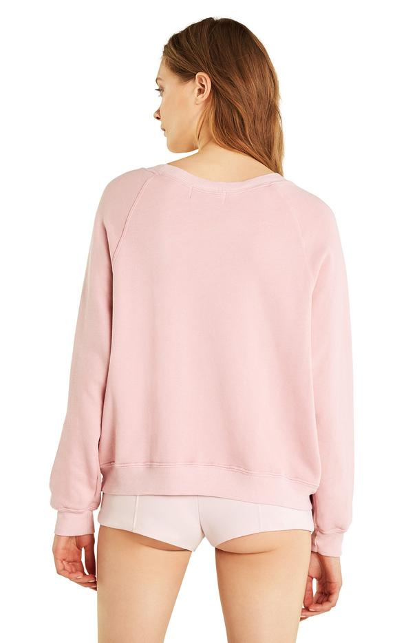 Animal Lover Sweater Pink and Red