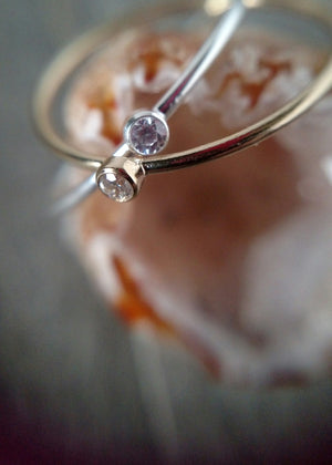 dainty sparkle ring