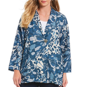 Blue Jungle Jacket