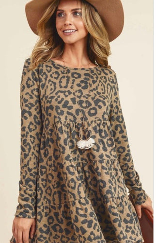 Layered Leopard Tunic