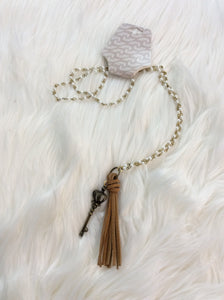 Tassel N Crown Necklace