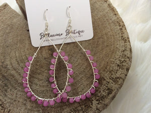 Prissy Pink Earrings