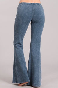 Light Mineral Wash Bell Bottoms