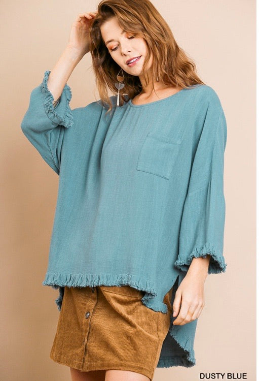 Just Breathe Tunic