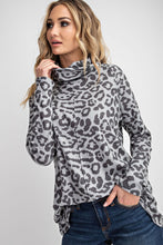 Greer Leopard Top