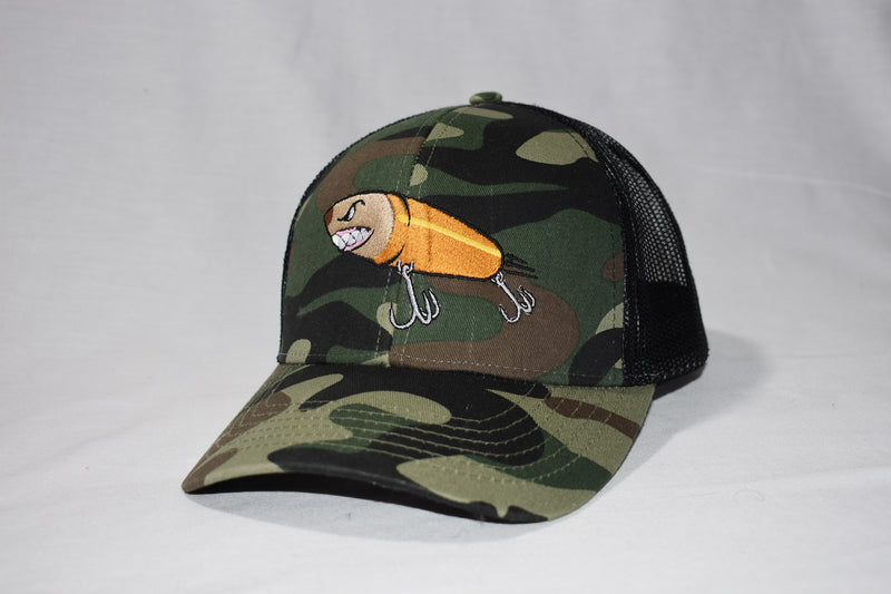 Camo Cal Fishing Hat
