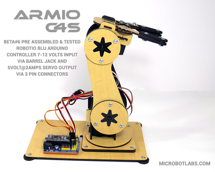 Armio C4S  Arduino Programmable Robotic Arm Beta#6
