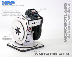 AniTron PT1 Pan Tilt Beta 1 with Jovois A-33 Machine Vision Camera
