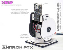 AniTron PT1 Pan Tilt Beta 1 with PIXY2 Machine Vision Camera