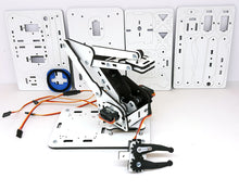 ArmUno 2.0 Robotic Arm Mechanical Parts White