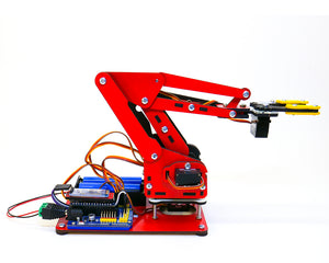 ArmUno Robotic Arm Kit With Robotio Blue USB Servo Controller