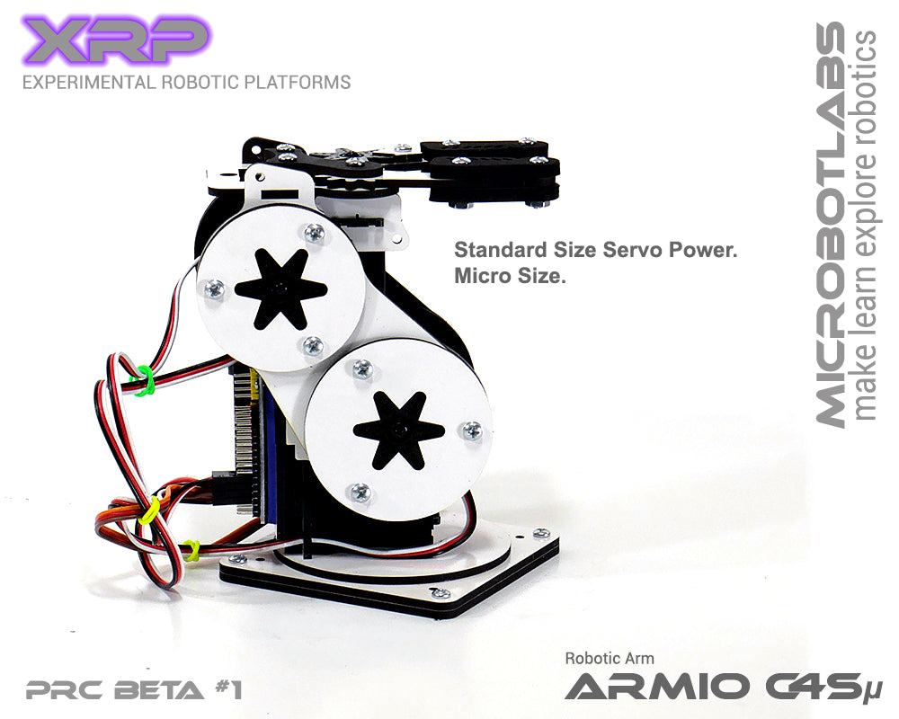 Armio C4sMicro Arduino Programmable Robotic Arm Beta#1