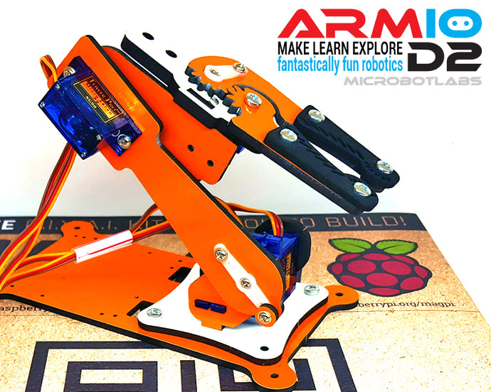 Armio D2 Robotic Arm - Robotio Kit