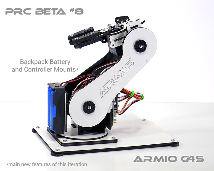 Armio C4S Robotic Arm Pre Assembled Beta#8
