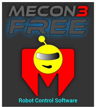 MeCon3 Arduino Serial Servo Robot Control Software