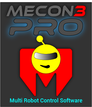 MeCon3 Multi Arduino Servo Robot Control Software