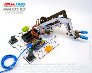 ArmUno Robot Protio Falcon Kit With Joystick Controls