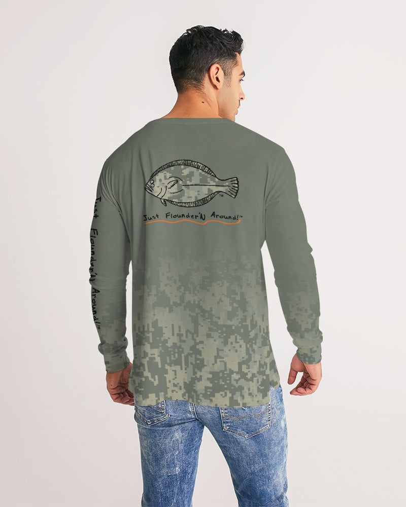 JFA DRI-FIT CAMO GREEN LONG SLEEVE Men's Long Sleeve Tee