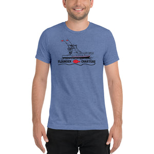 Flounder Charters Lightweight Short sleeve t-shirt