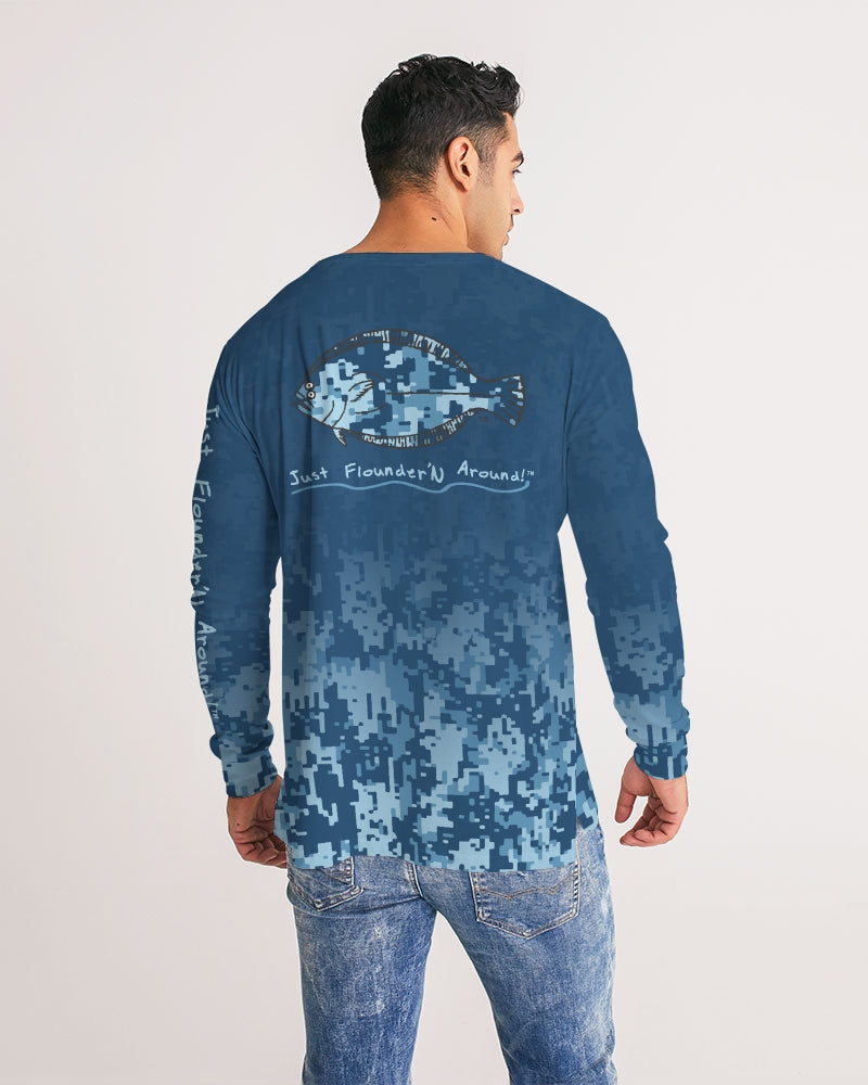 JFA DRI FIT CAMO BLUE LONG SLEEVE Men's Long Sleeve Tee