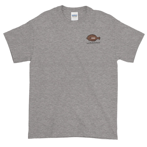 Flounder'N Football Chicago, Short-Sleeve T-Shirt