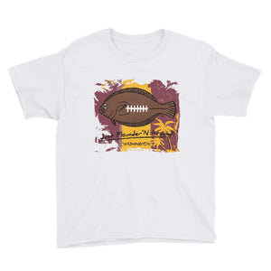 Kids Washington Football Flounder- Short Sleeve T-Shirt