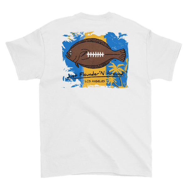 Flounder'N Football Los Angeles CH Short-Sleeve T-Shirt