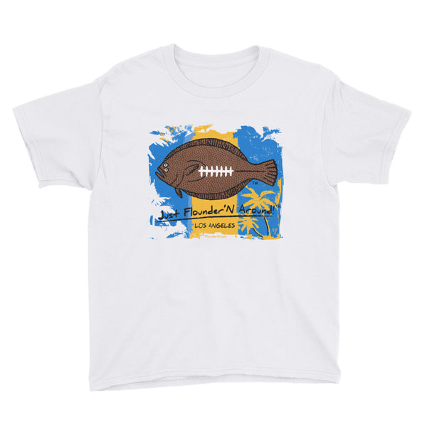 FFL LA Chargers - Youth Short Sleeve T-Shirt