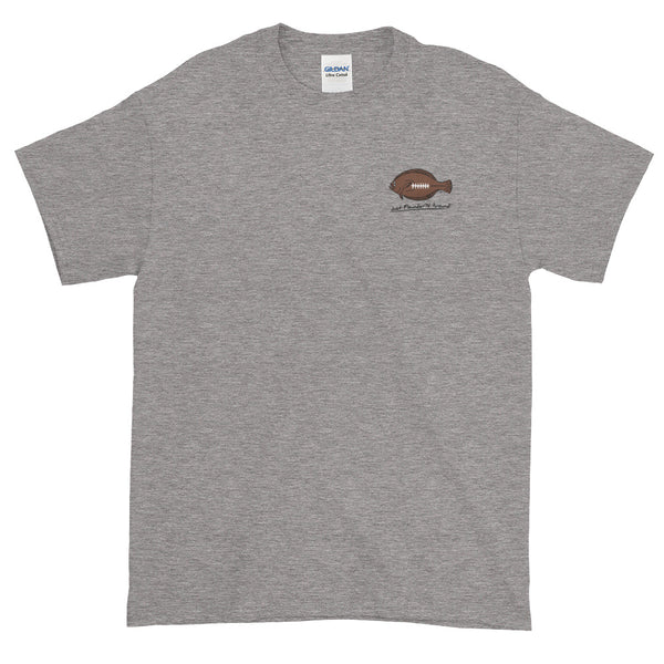 Flounder'N Football Pittsburgh Short-Sleeve T-Shirt