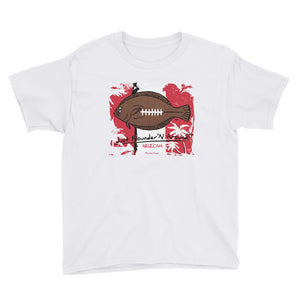 Kids Arizona Football Flounder - Short Sleeve T-Shirt