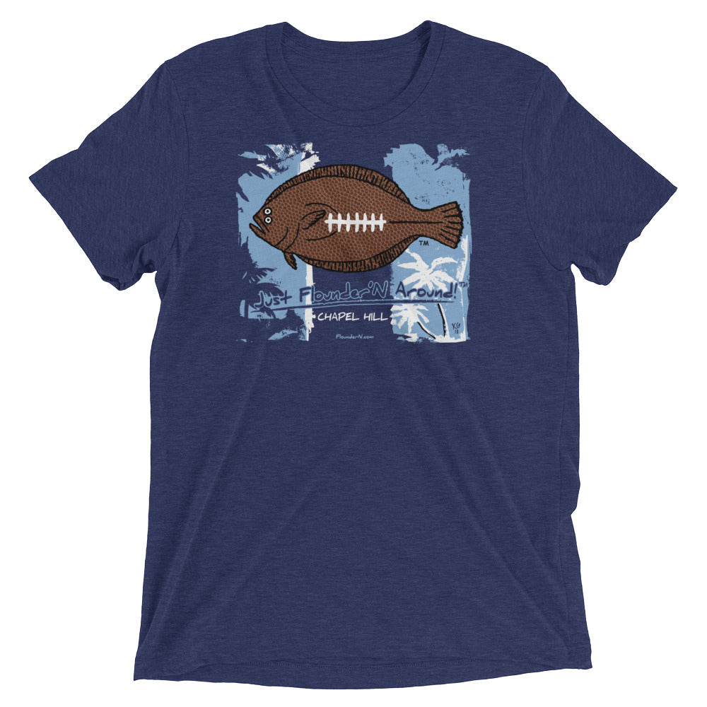Chapel Hill Flounder Football LIGHT WEIGHT Short sleeve t-shirt