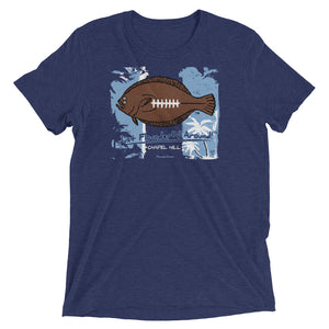 FFL Flounder'N Football Chapel Hill, LIGHT WEIGHT Short sleeve t-shirt