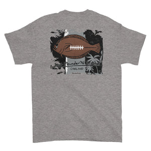 Flounder'N Football Oakland, Short-Sleeve T-Shirt