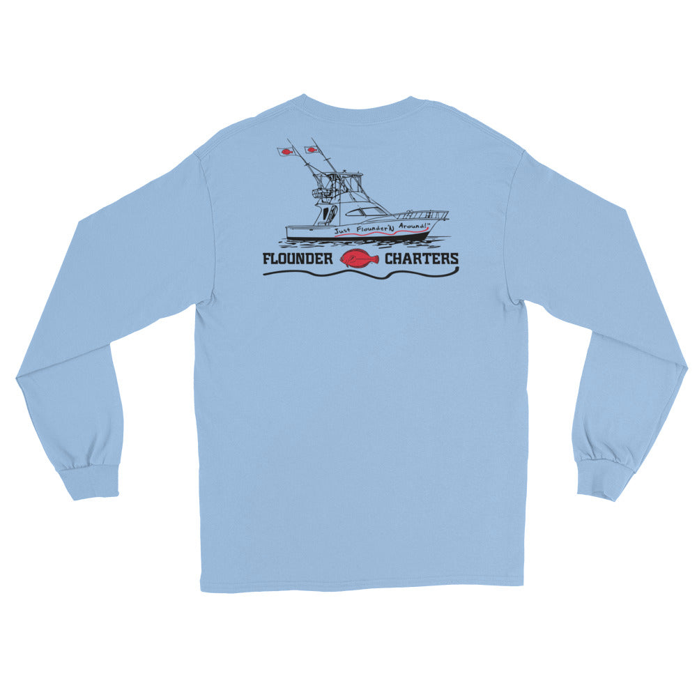 Flounder Charters Long Sleeve T-Shirt