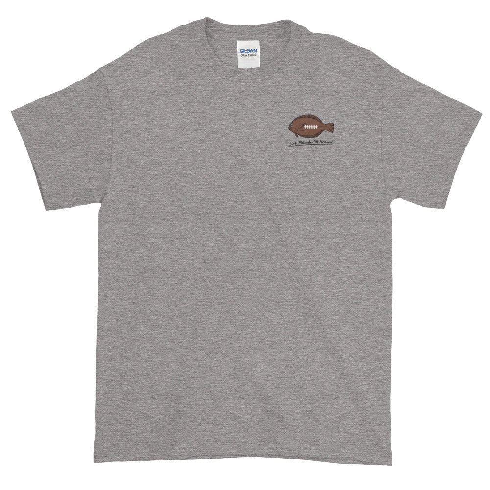 Flounder'N Football New York G, Short-Sleeve T-Shirt