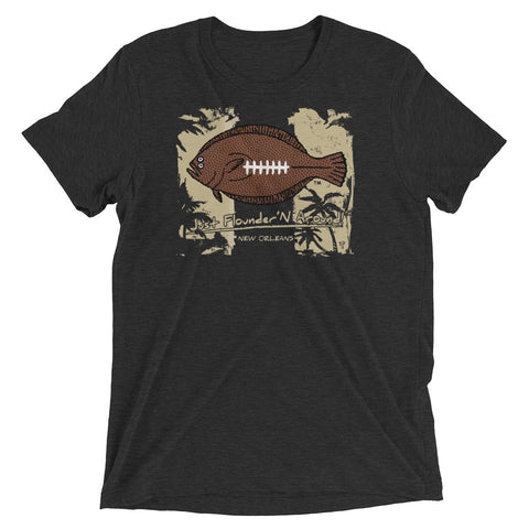 FFL Flounder'N Football Saints, LIGHT WEIGHT Short sleeve t-shirt