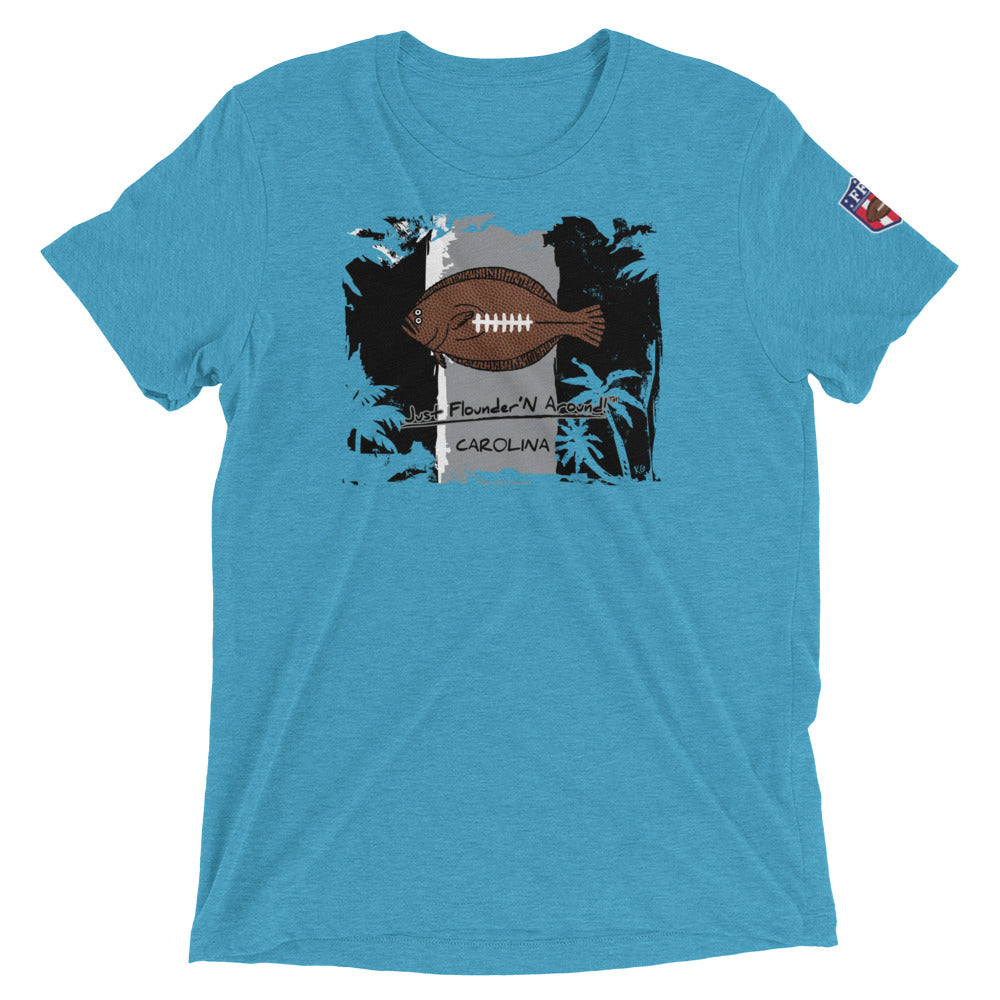 Carolina Football Flounder Lightweight Short sleeve T-shirt