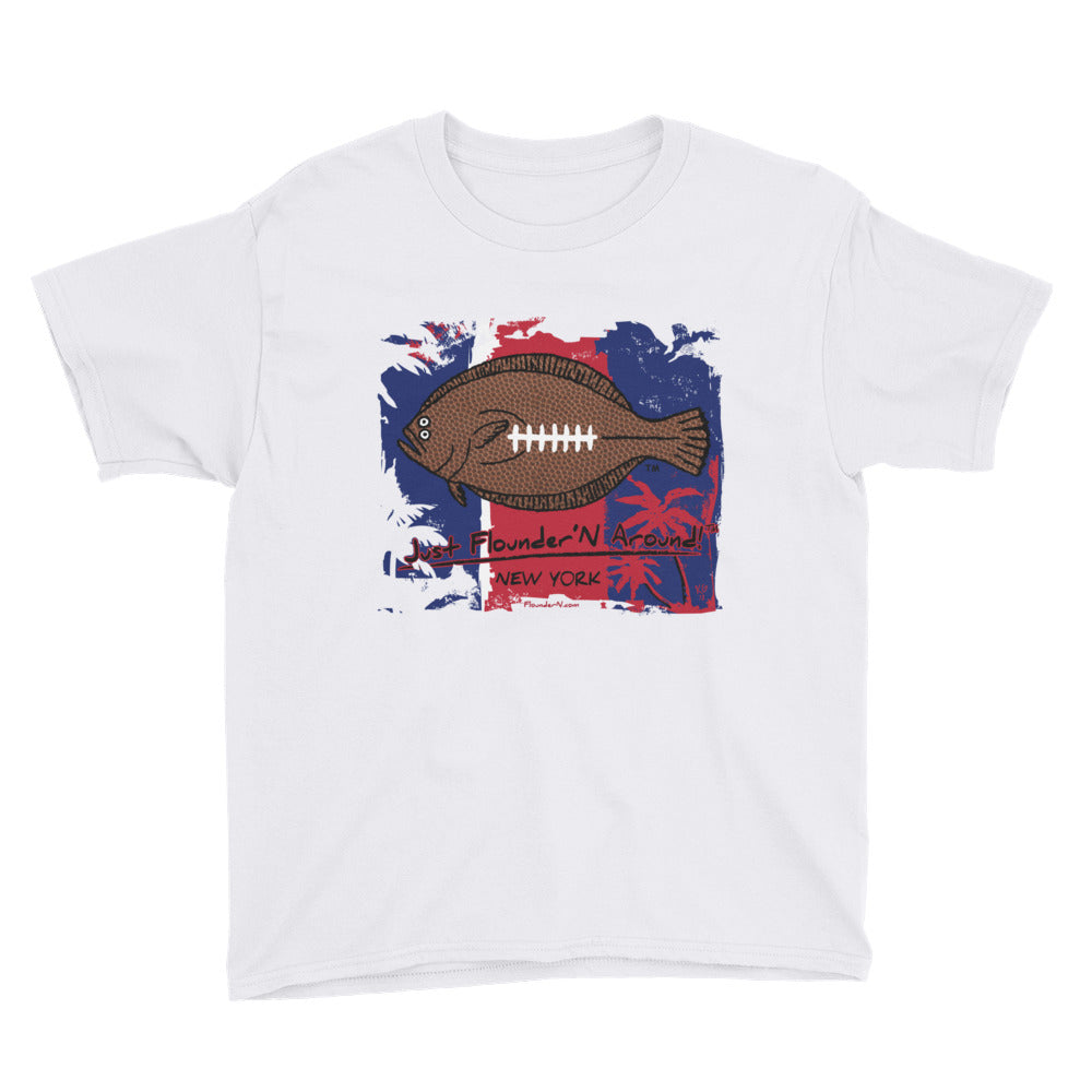 Kids FFL New York Giants - Short Sleeve T-Shirt