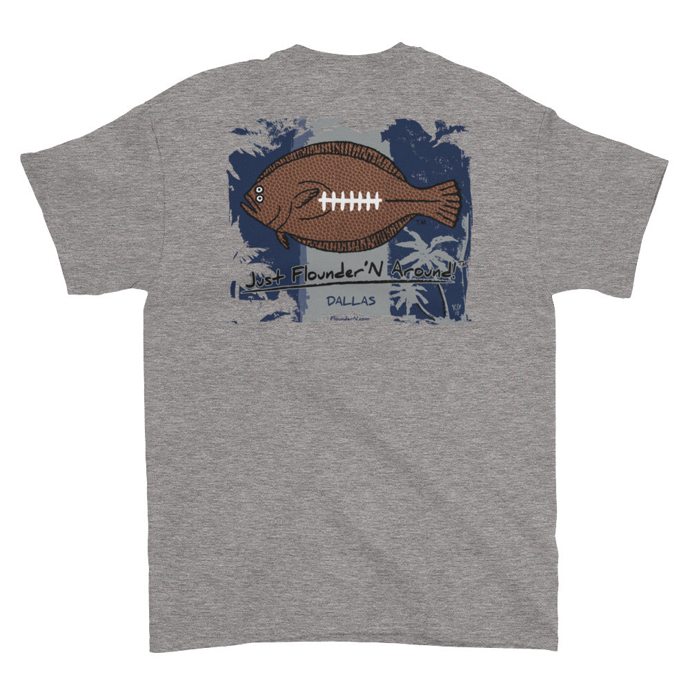 Flounder'N Football Dallas, Short-Sleeve T-Shirt