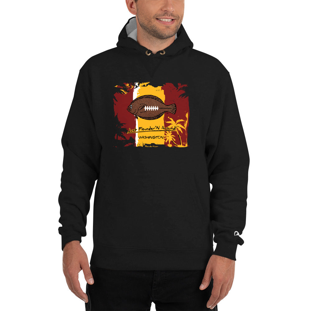 Redskins Flounder Football Champion Hoodie