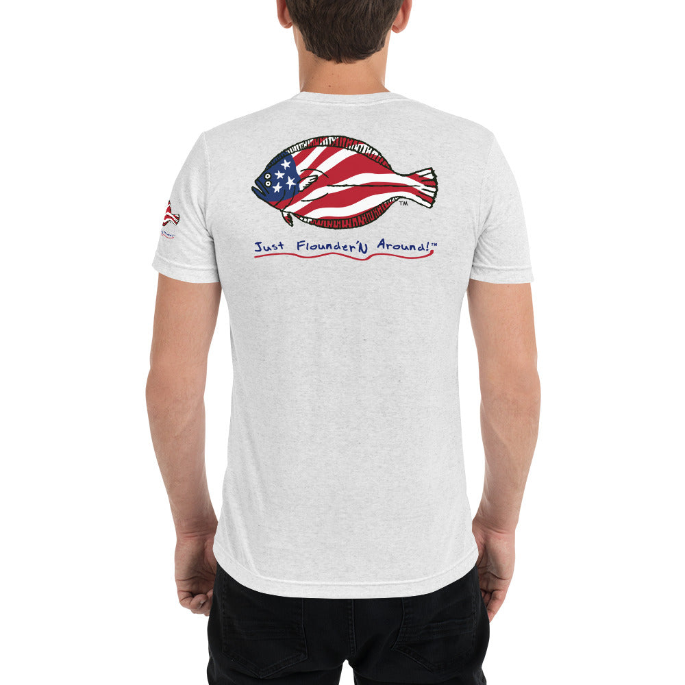American Flounder Lightweight Short sleeve t-shirt