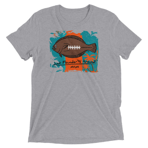 FFL Flounder'N Football Miami Light Weight Short sleeve t-shirt
