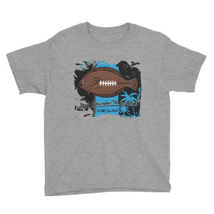 Kids Flounder'N Football Carolina, Short Sleeve T-Shirt
