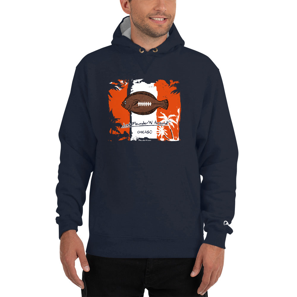 Chicago Flounder Football Champion Hoodie