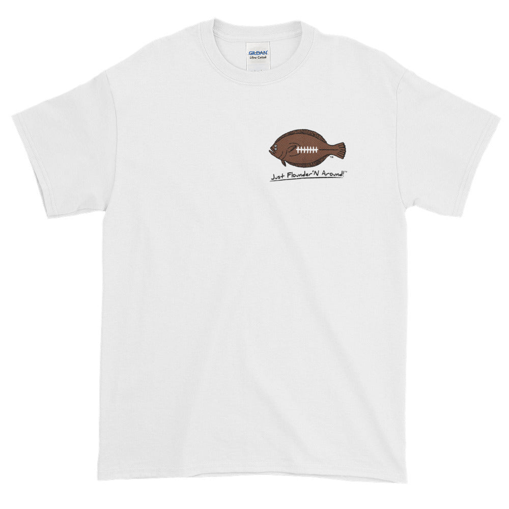 Flounder'N Football Tampa Bay NFC South, Short-Sleeve T-Shirt