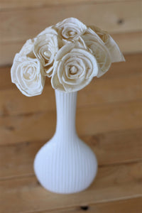"2""  Stemmed Classic Roses ( Set of 12 )"