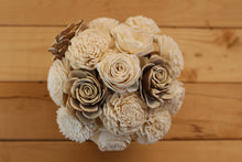Woodland Sola Wood Flower Centerpiece